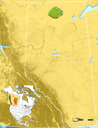 Caribou Mountains location.png