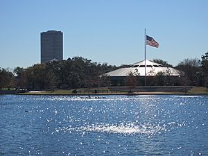 Hermann Park, Houston, McGovern Lake in 2012