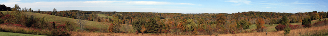 Hoosier National Forest panorama 1