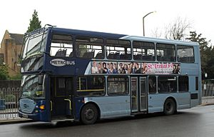 Metrobus in Crawley - YN54 AJV