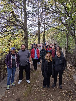 OHNY visitors at Ridgewood in October 2019