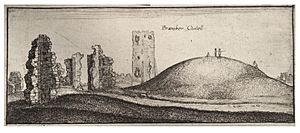 Wenceslas Hollar - Bramber Castle 2