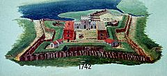 Fort Frederica 1742