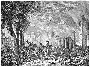 Queen Square Riot 1831 engraving
