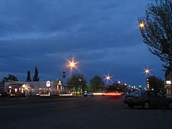 Downtown Rexburg, May 2007