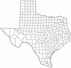 Location of Linn, Texas