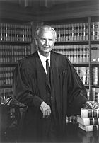 US Supreme Court Justice William Brennan - 1976 official portrait