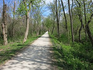 Winfield IL Prairie Path Elgin Branch