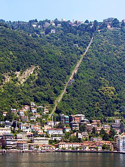 Como-Brunate funicular - June2016
