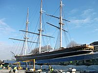 Cutty Sark 2012 landscaping