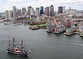 Flickr - Official U.S. Navy Imagery - USS Constitution sails into Boston Harbor