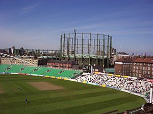Gasholders at the Oval