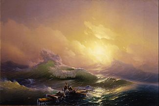 Hovhannes Aivazovsky - The Ninth Wave - Google Art Project