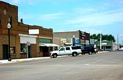 Businesses in downtown Idalou