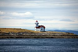 Patos island light house