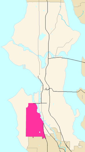 Seattle Map - Delridge