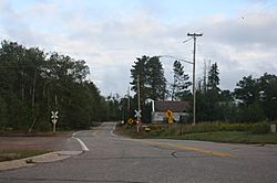The unincorporated community of Woodboro in the town of Woodboro
