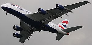 British Airways A380-841 G-XLEA (16948377692)