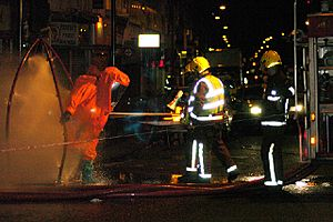 Decontamination after incident at Archway - geograph.org.uk - 108750