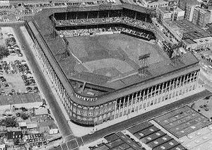 Ebbets Field aerial