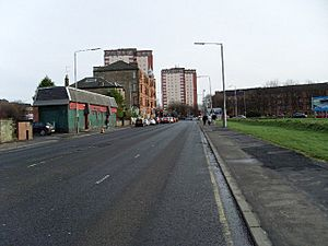 London Road, Parkhead in 2008