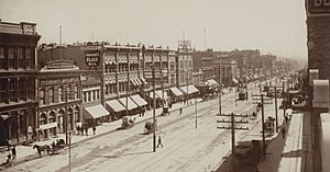 Salt lake city main street c1890 ug