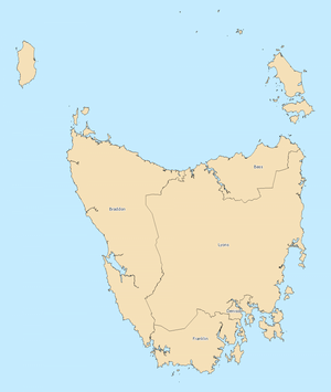 Tasmania divisions overview 2010