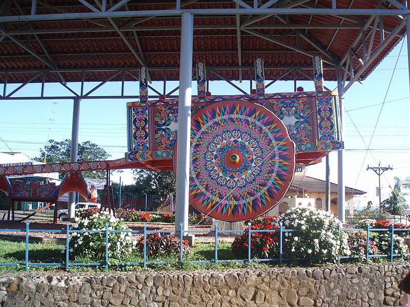 World's Largest Oxcart Sarchi Costa Rica