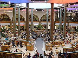 Meadowhall Shopping Centre - The Oasis 07-04