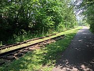 Old Monon Railroad tracks
