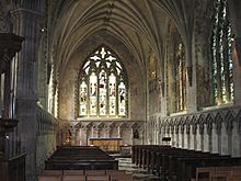 St Albans Cathedral Lady Chapel
