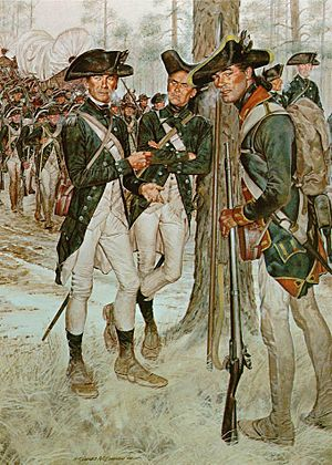 The American Soldier - Continental Army