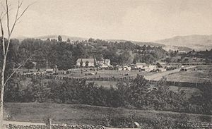 View of the Canaan Fair, Canaan, NH
