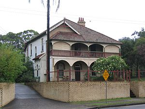 West ryde house near pumping station