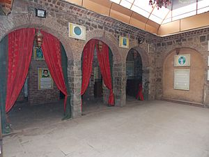 A view of Ghalib ki Haveli