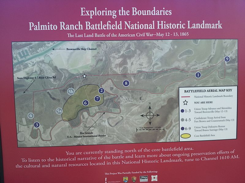 Battle of Palmito Ranch marker
