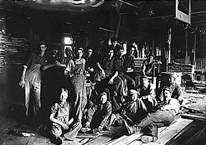 Child workers in Indianapolis