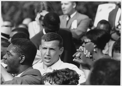 Civil Rights March on Washington, D.C. (Faces of marchers.) - NARA - 542070
