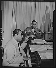 Duke Ellington - Hurricane Ballroom - Duke directing 1