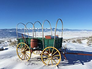 Snow and cold at the Oregon Trail center (32144595495)