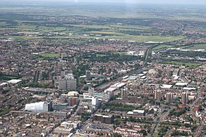 Southend aerial 220608