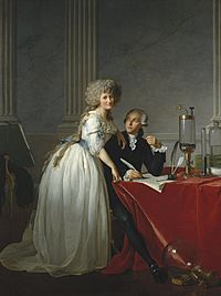 David - Portrait of Monsieur Lavoisier and His Wife