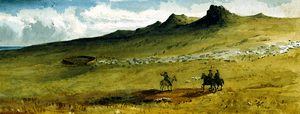 Edward Gennys Fanshawe, Mount William, Falkland Islands, May 1849 (Portion B)