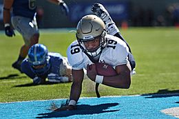Warrior Games athletes honored at Navy-Air Force football game 141004-D-DB155-022