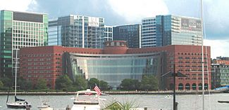 2017 Moakley US Courthouse from Central Wharf.jpg