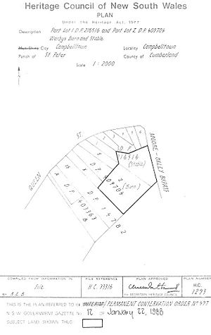 497 - Warbys Barn & Warbys Stables - PCO Plan Number 497 (5045445p1)