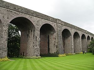 Charlton viaduct from kilver gardens