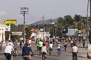 CicLAvia - The Valley - Ventura Blvd east 2015-03-22