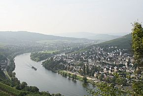 Moselle river near Cochem, Germany