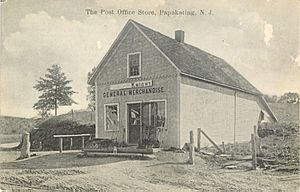 Papakating Post Office Frankford Township NJ in M R Knight General Merchandise
